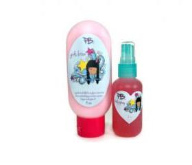 Tween Girls Bubblegum Spray and Lotion Set